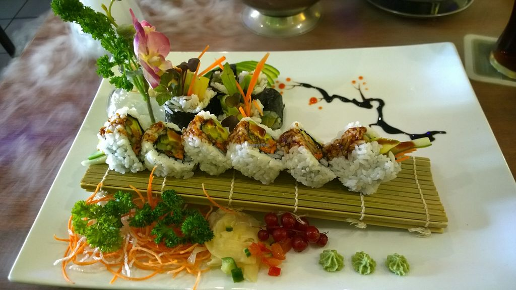 """Photo of Ha Long  by <a href=""""/members/profile/Mad%20Hatter"""">Mad Hatter</a> <br/>Vegan Sushi <br/> April 16, 2016  - <a href='/contact/abuse/image/56030/144793'>Report</a>"""