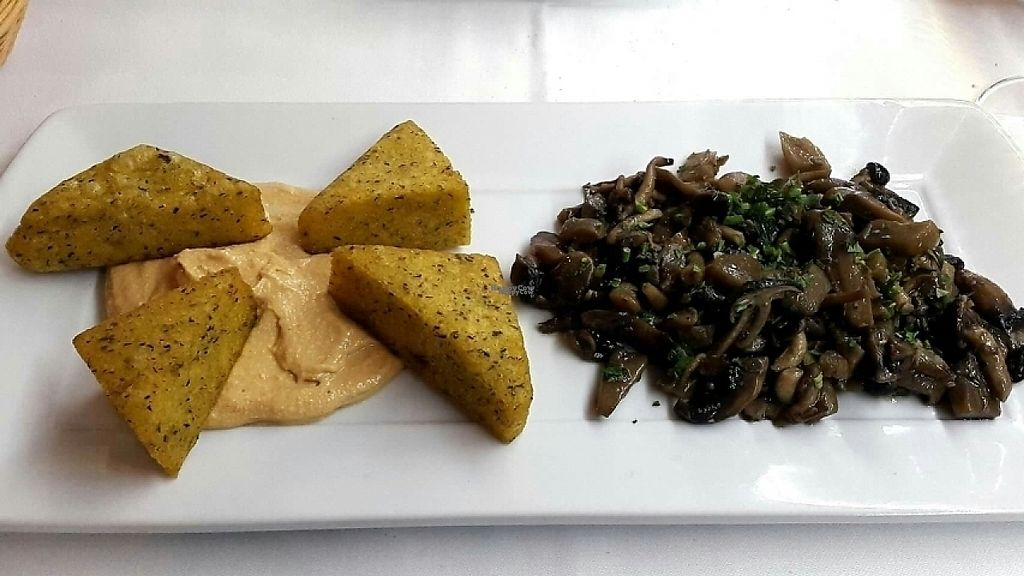 """Photo of CLOSED: Pinzimonio  by <a href=""""/members/profile/Ranger78"""">Ranger78</a> <br/>Mushrooms with cheese and polenta  <br/> December 24, 2016  - <a href='/contact/abuse/image/56036/204501'>Report</a>"""
