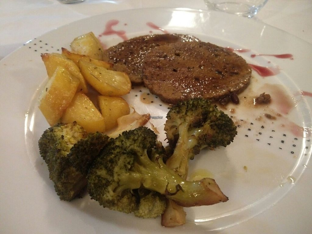 """Photo of CLOSED: Pinzimonio  by <a href=""""/members/profile/YossieAdrianMousalli"""">YossieAdrianMousalli</a> <br/>Seitan with potatoes and broccoli <br/> April 8, 2017  - <a href='/contact/abuse/image/56036/245660'>Report</a>"""