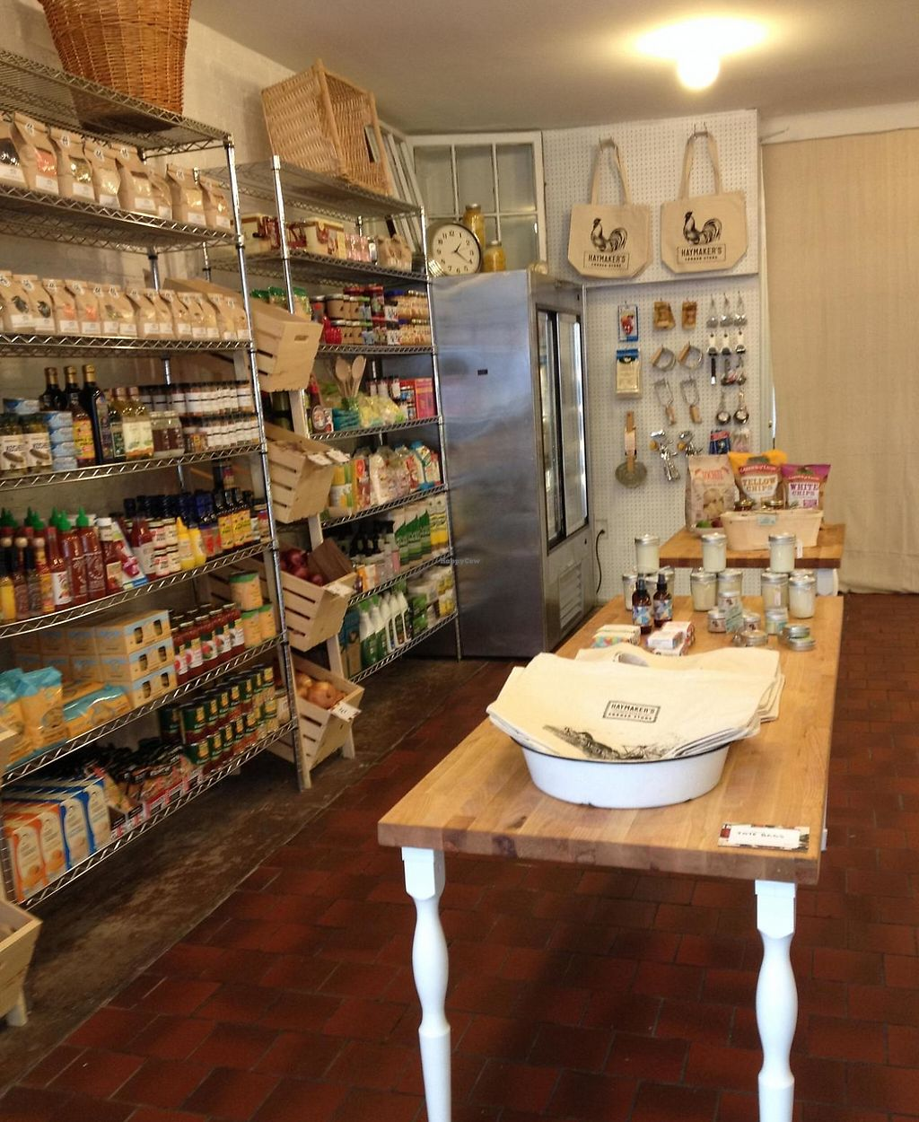 """Photo of CLOSED: Haymaker's Corner Store  by <a href=""""/members/profile/vegan_ryan"""">vegan_ryan</a> <br/>Inside of store <br/> March 16, 2015  - <a href='/contact/abuse/image/56048/212330'>Report</a>"""