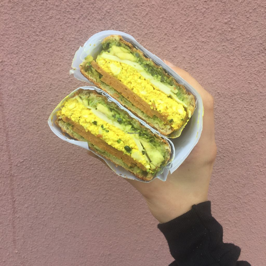 """Photo of CLOSED: Haymaker's Corner Store  by <a href=""""/members/profile/Namaiki"""">Namaiki</a> <br/>breakfast panini! <br/> May 22, 2017  - <a href='/contact/abuse/image/56048/261498'>Report</a>"""