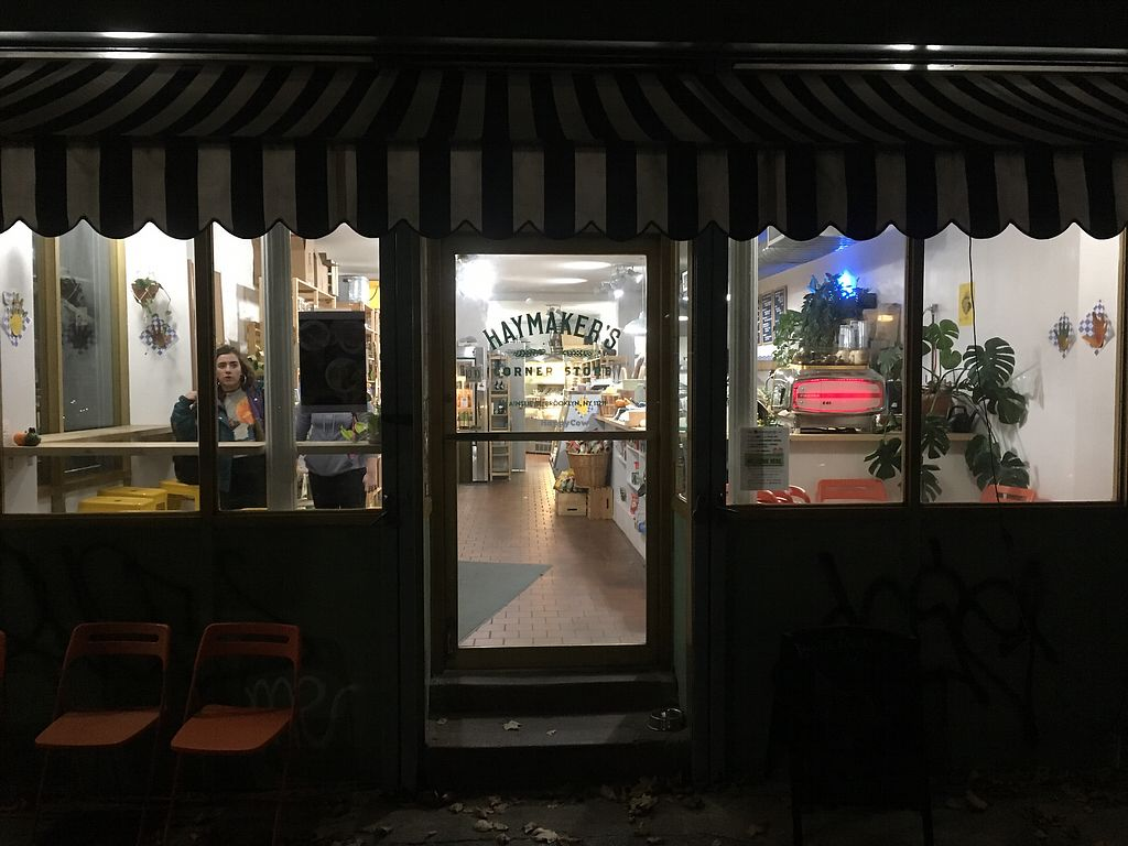 """Photo of CLOSED: Haymaker's Corner Store  by <a href=""""/members/profile/770veg"""">770veg</a> <br/>front stoop <br/> November 7, 2017  - <a href='/contact/abuse/image/56048/322768'>Report</a>"""