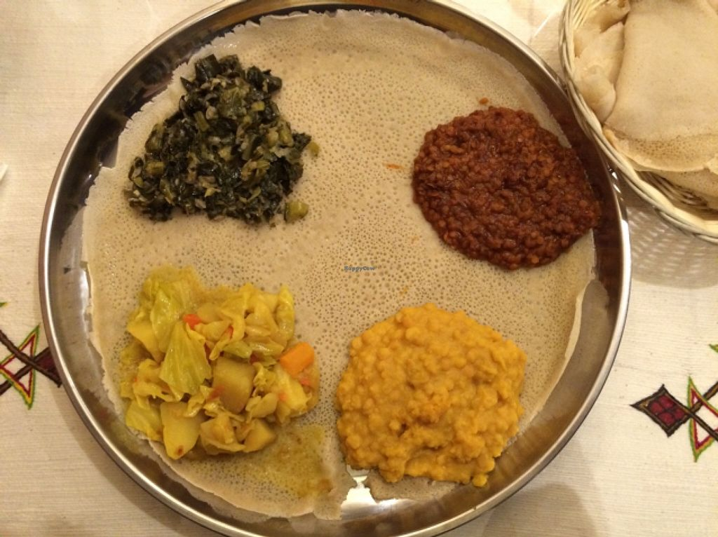 """Photo of Cafe Lalibela  by <a href=""""/members/profile/Nagemireille"""">Nagemireille</a> <br/>yummy veggie platter <br/> February 24, 2016  - <a href='/contact/abuse/image/5604/137642'>Report</a>"""