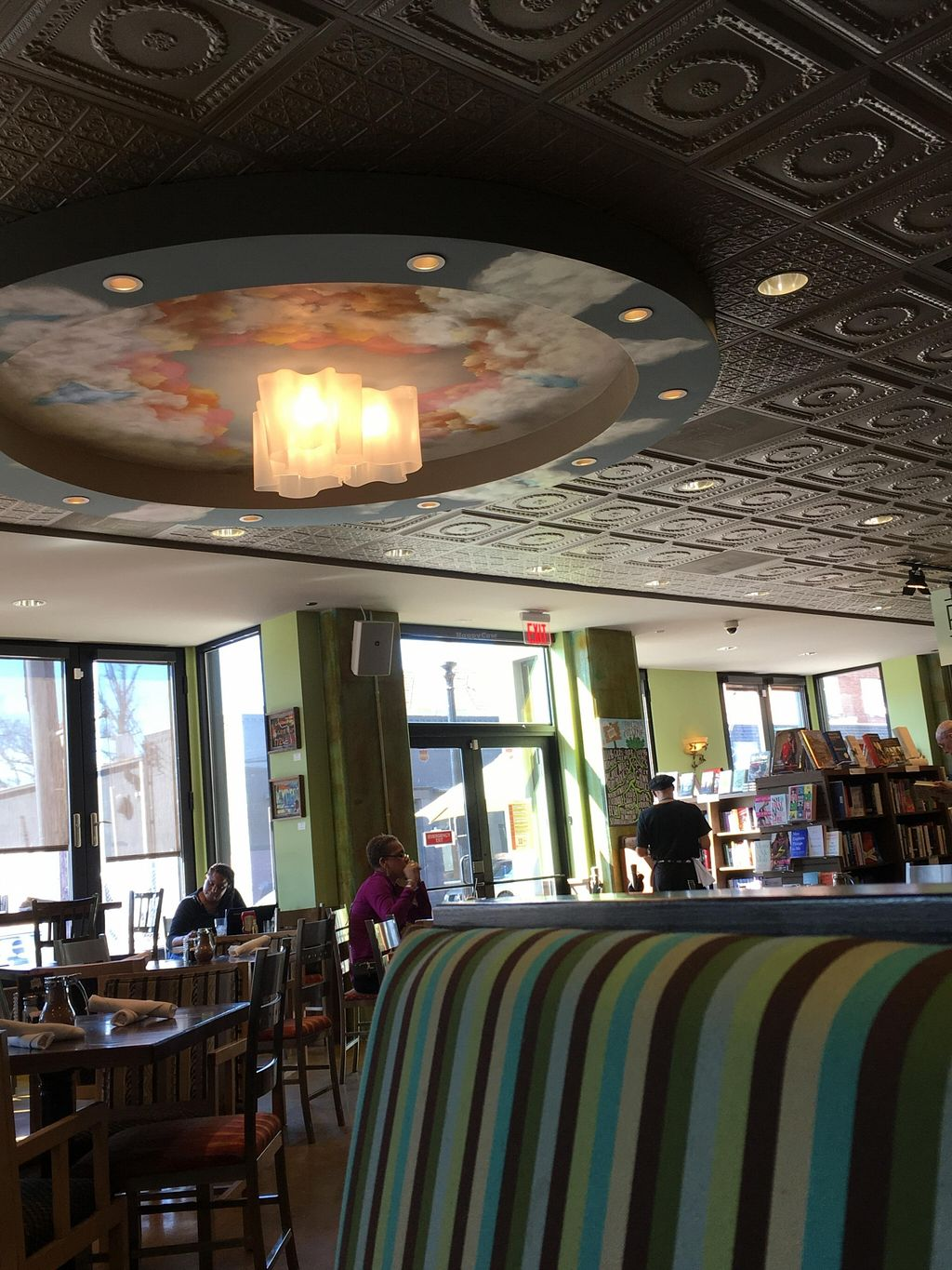 """Photo of Busboys and Poets - Carroll St  by <a href=""""/members/profile/cookiem"""">cookiem</a> <br/>More seating <br/> April 2, 2016  - <a href='/contact/abuse/image/56092/142383'>Report</a>"""