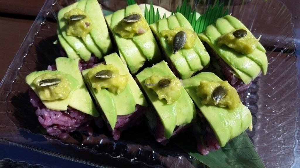 "Photo of The Root  by <a href=""/members/profile/eric"">eric</a> <br/>avocado rolls <br/> August 19, 2016  - <a href='/contact/abuse/image/56114/169985'>Report</a>"