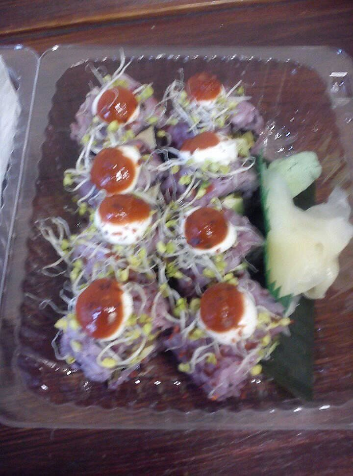 "Photo of The Root  by <a href=""/members/profile/FernandoMoreira"">FernandoMoreira</a> <br/>piegzara ognja (spicy sushi) <br/> December 5, 2017  - <a href='/contact/abuse/image/56114/332558'>Report</a>"
