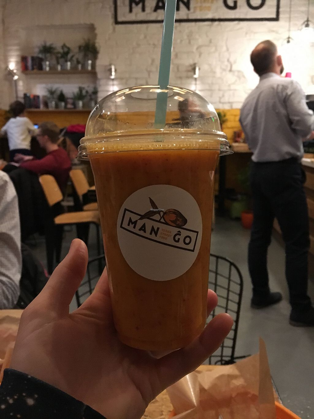 """Photo of Mango Vegan Street Food - Bracka  by <a href=""""/members/profile/Mermitate"""">Mermitate</a> <br/>The best smoothie ever!  <br/> November 17, 2017  - <a href='/contact/abuse/image/56119/326526'>Report</a>"""