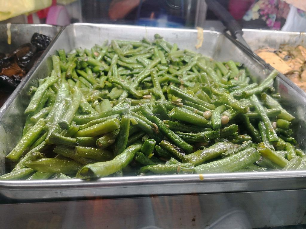 """Photo of Vegetarian Food Stall - Ayer Rajah Crescent  by <a href=""""/members/profile/KuaMinChuen"""">KuaMinChuen</a> <br/>Stir Fry Long Bean <br/> April 13, 2018  - <a href='/contact/abuse/image/56154/384909'>Report</a>"""