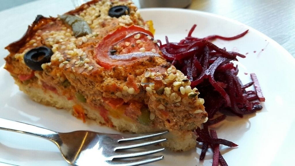 """Photo of Veggie Garden  by <a href=""""/members/profile/SeanSteel"""">SeanSteel</a> <br/>pizza quiche (GF) <br/> November 8, 2016  - <a href='/contact/abuse/image/56175/187417'>Report</a>"""