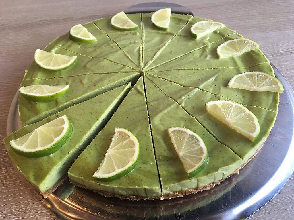 """Photo of Veggie Garden  by <a href=""""/members/profile/MichalV"""">MichalV</a> <br/>Lime-mint raw cake <br/> October 5, 2017  - <a href='/contact/abuse/image/56175/312074'>Report</a>"""