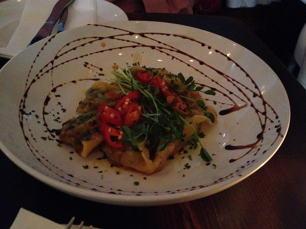 """Photo of CLOSED: The Dandylion Bondi  by <a href=""""/members/profile/haz124"""">haz124</a> <br/>The tempeh dumplings for starters <br/> March 4, 2015  - <a href='/contact/abuse/image/56209/94910'>Report</a>"""