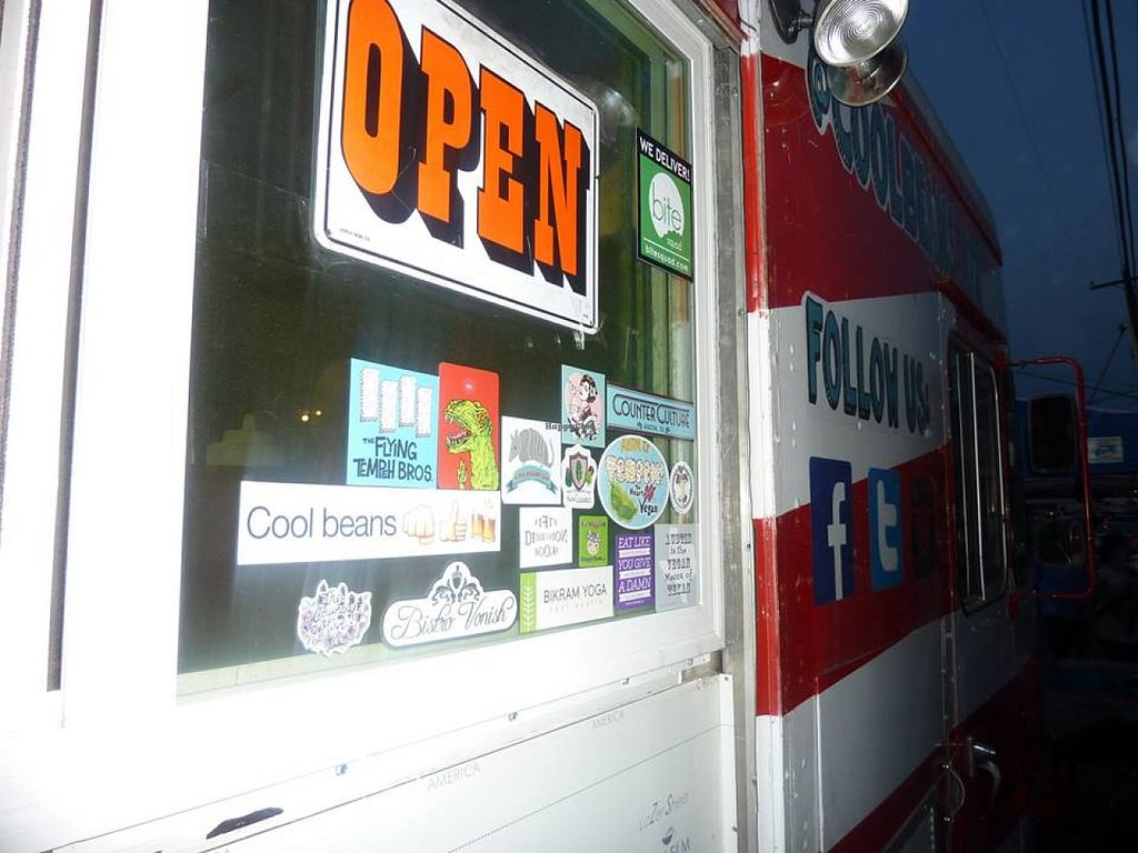 """Photo of Cool Beans - Food Truck  by <a href=""""/members/profile/MizzB"""">MizzB</a> <br/>Happy cow at Cool Beans <br/> December 16, 2015  - <a href='/contact/abuse/image/56221/128762'>Report</a>"""