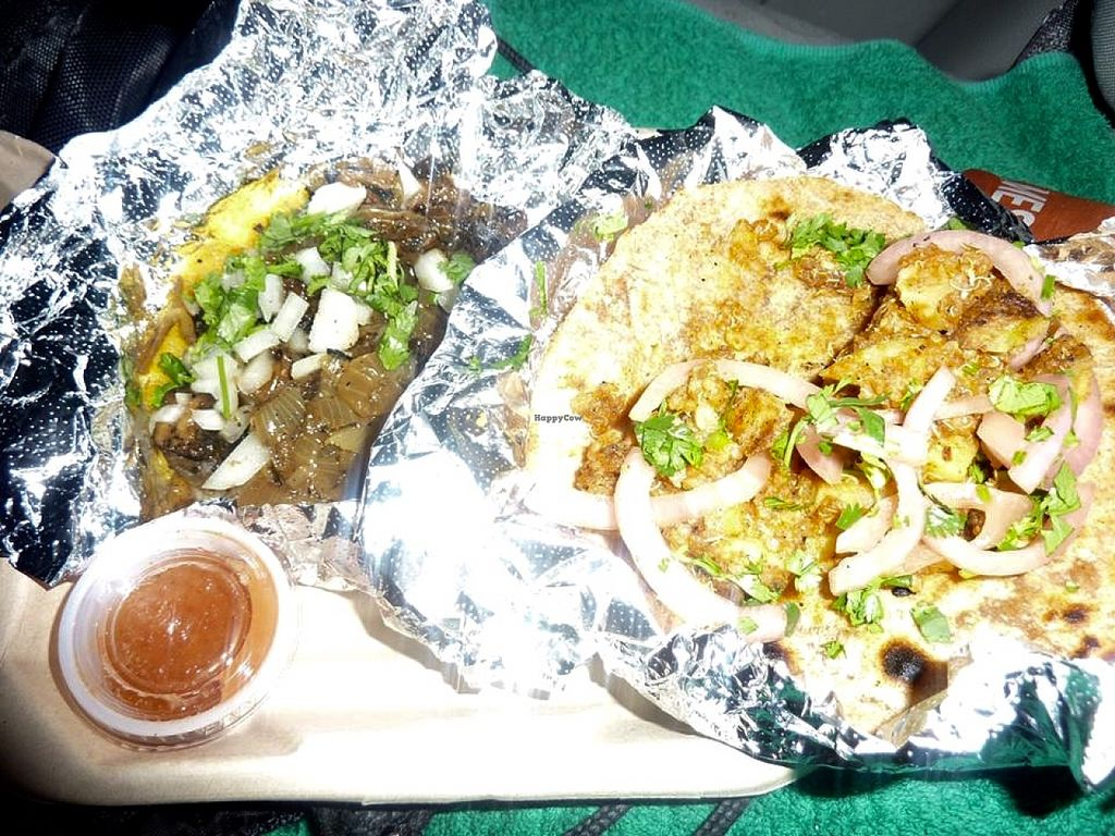 """Photo of Cool Beans - Food Truck  by <a href=""""/members/profile/MizzB"""">MizzB</a> <br/>Tacos plate <br/> December 16, 2015  - <a href='/contact/abuse/image/56221/128764'>Report</a>"""