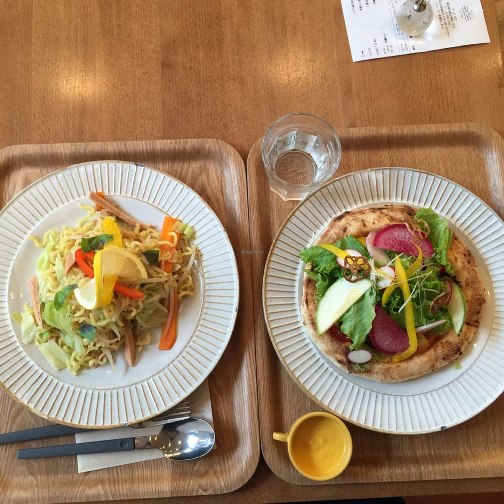 """Photo of Sekai Cafe - Asakusa  by <a href=""""/members/profile/Kels415"""">Kels415</a> <br/>ramen and pizza  <br/> August 21, 2015  - <a href='/contact/abuse/image/56252/114580'>Report</a>"""