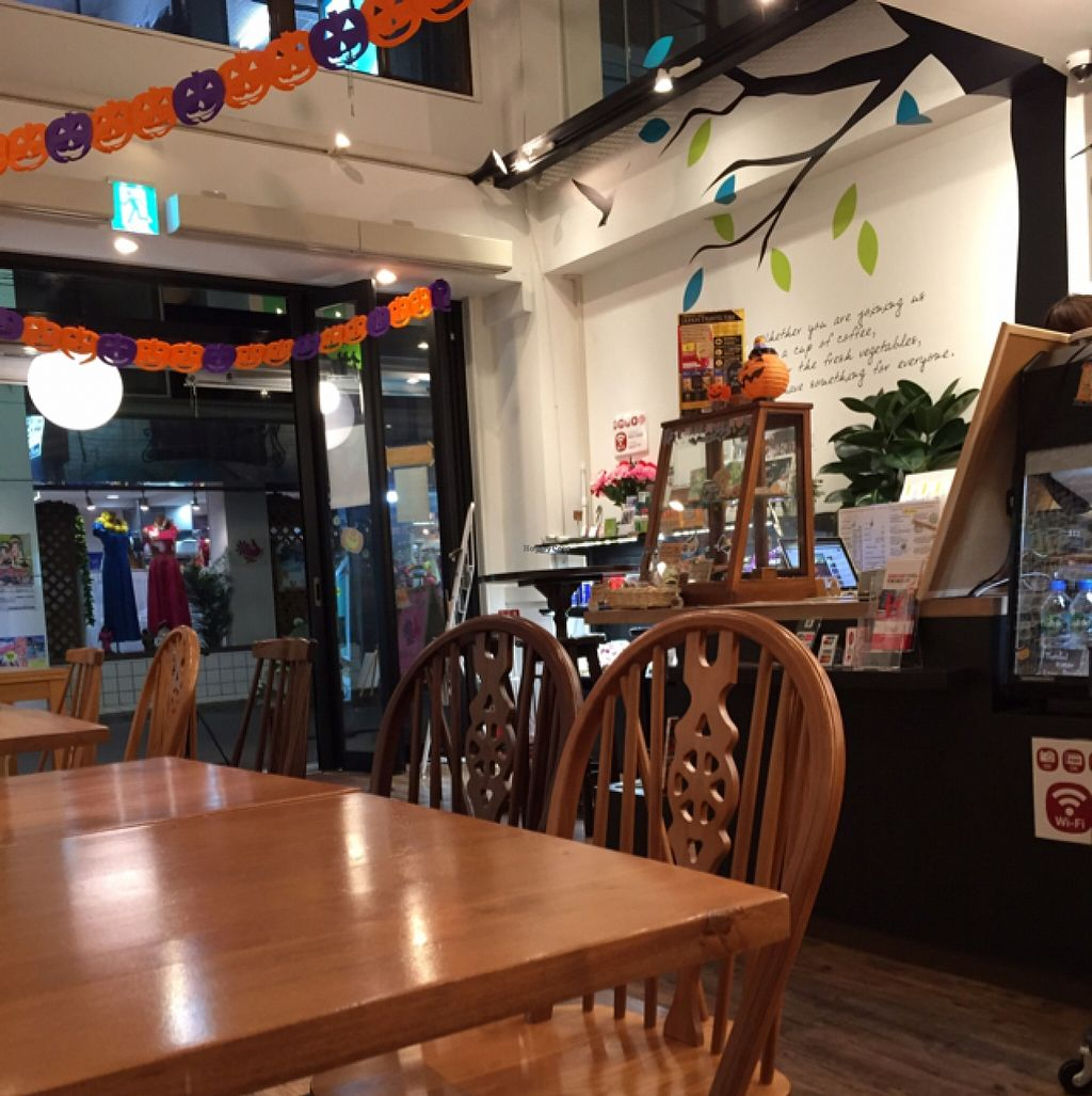 """Photo of Sekai Cafe - Asakusa  by <a href=""""/members/profile/JimmyKeegan"""">JimmyKeegan</a> <br/>Decorated for Halloween  <br/> September 12, 2015  - <a href='/contact/abuse/image/56252/117420'>Report</a>"""
