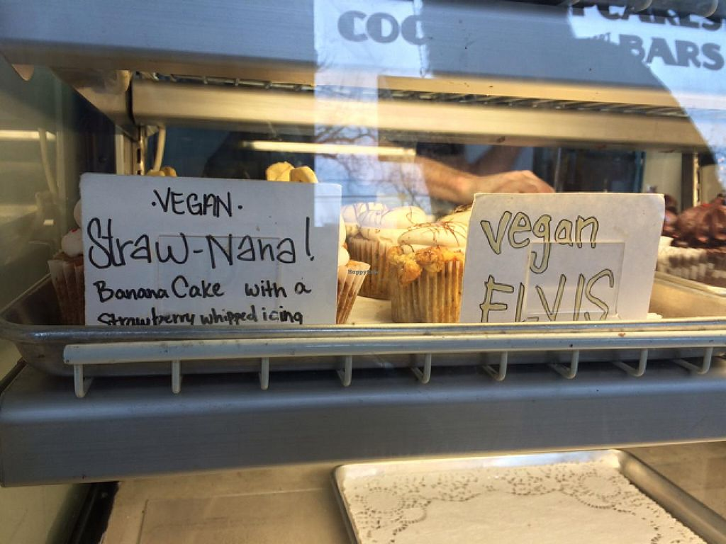 """Photo of Sugar Mama's Bakeshop  by <a href=""""/members/profile/AustinJardinera"""">AustinJardinera</a> <br/>2 vegan options last Saturday <br/> March 9, 2015  - <a href='/contact/abuse/image/56277/95326'>Report</a>"""