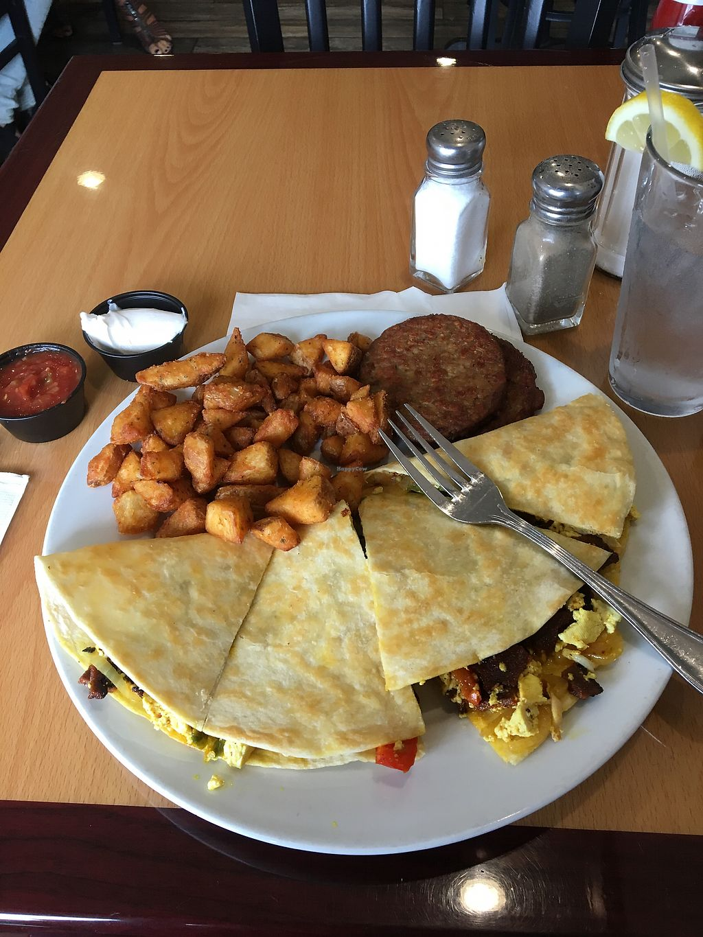 "Photo of Frankie's on Fairview  by <a href=""/members/profile/chelsjss"">chelsjss</a> <br/>Breakfast quesadilla <br/> September 6, 2017  - <a href='/contact/abuse/image/56280/301501'>Report</a>"