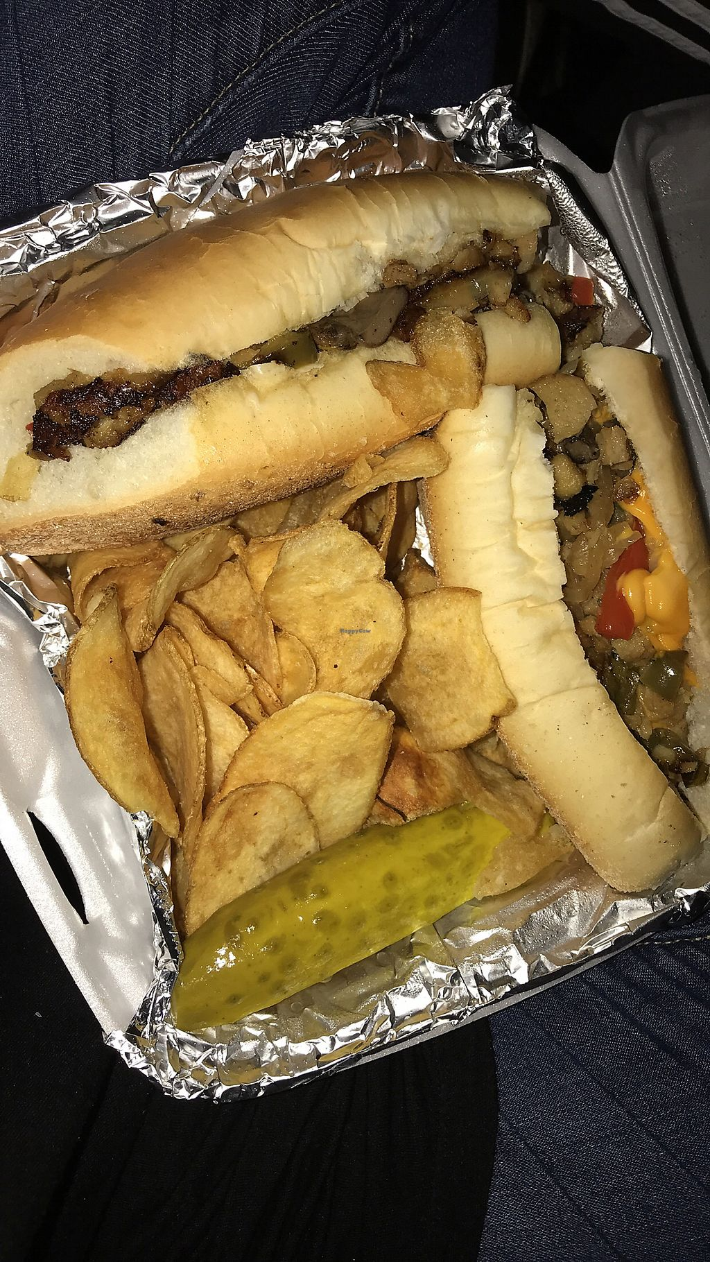 "Photo of Frankie's on Fairview  by <a href=""/members/profile/tesssclark"">tesssclark</a> <br/>Vegan Cheesesteak! <br/> November 14, 2017  - <a href='/contact/abuse/image/56280/325672'>Report</a>"