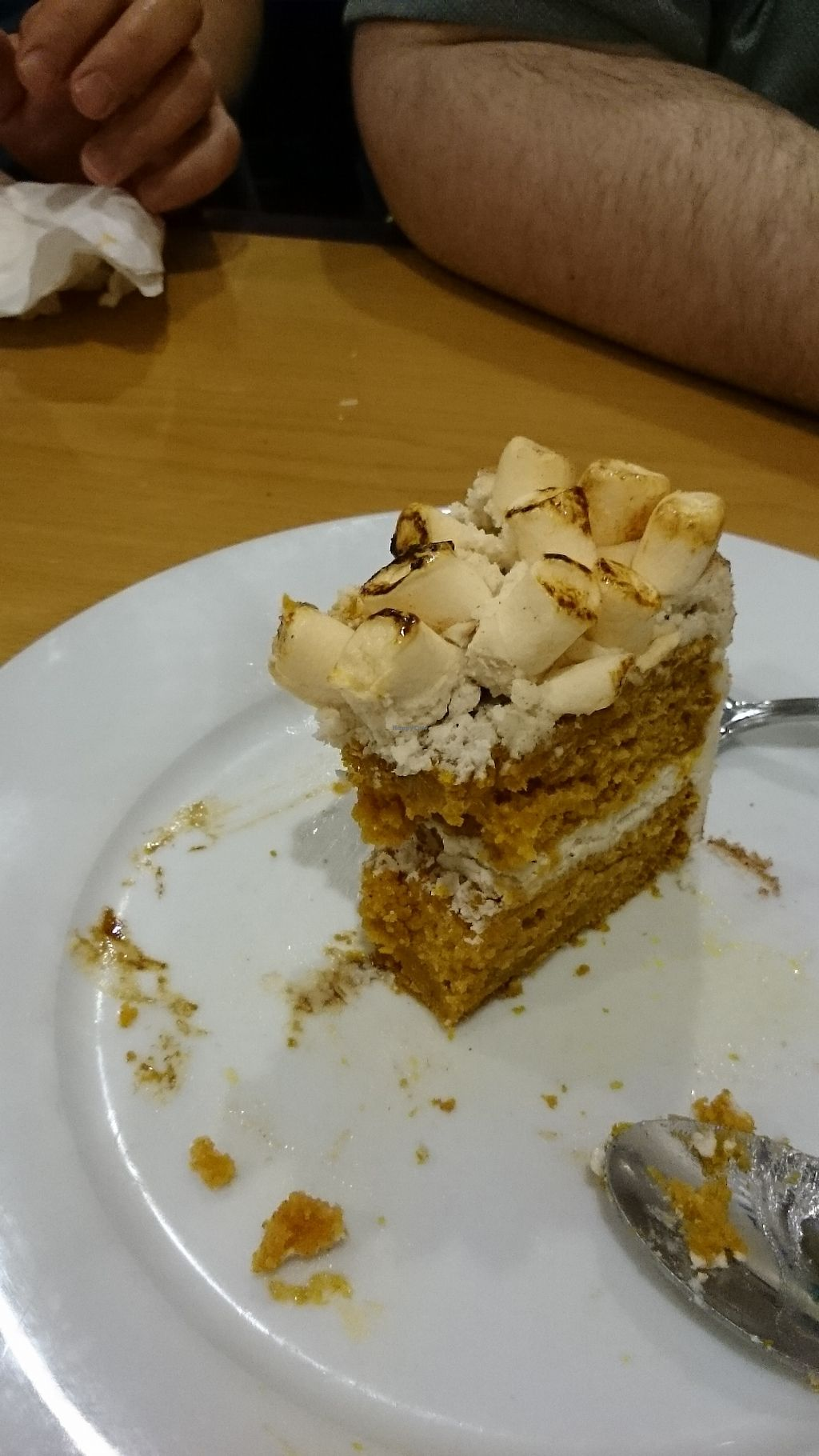 "Photo of Frankie's on Fairview  by <a href=""/members/profile/ZoraySpielvogel"">ZoraySpielvogel</a> <br/>Vegan Marshmallow pumpkin pie cake  <br/> December 5, 2017  - <a href='/contact/abuse/image/56280/332556'>Report</a>"