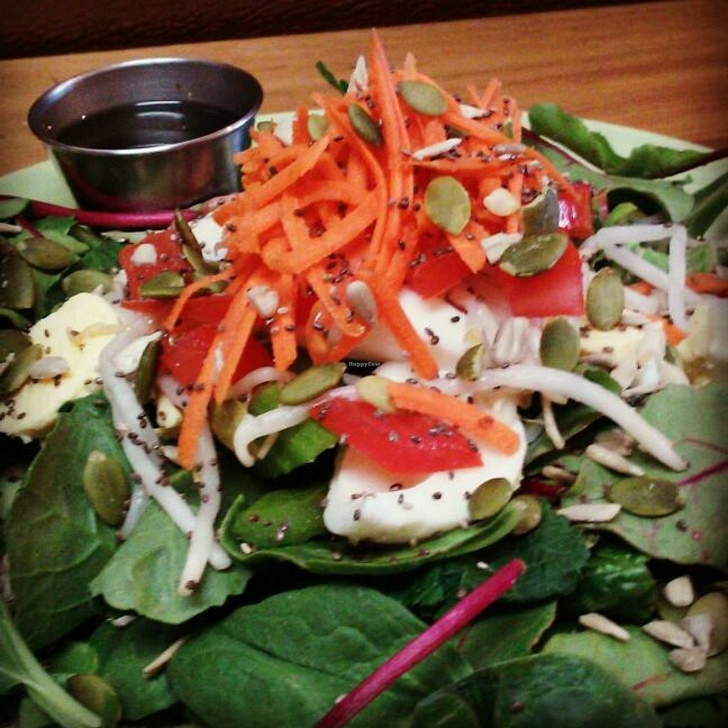 """Photo of Lotus Lounge  by <a href=""""/members/profile/bloominglotus107"""">bloominglotus107</a> <br/>Fresh Salads <br/> February 4, 2016  - <a href='/contact/abuse/image/56282/135007'>Report</a>"""