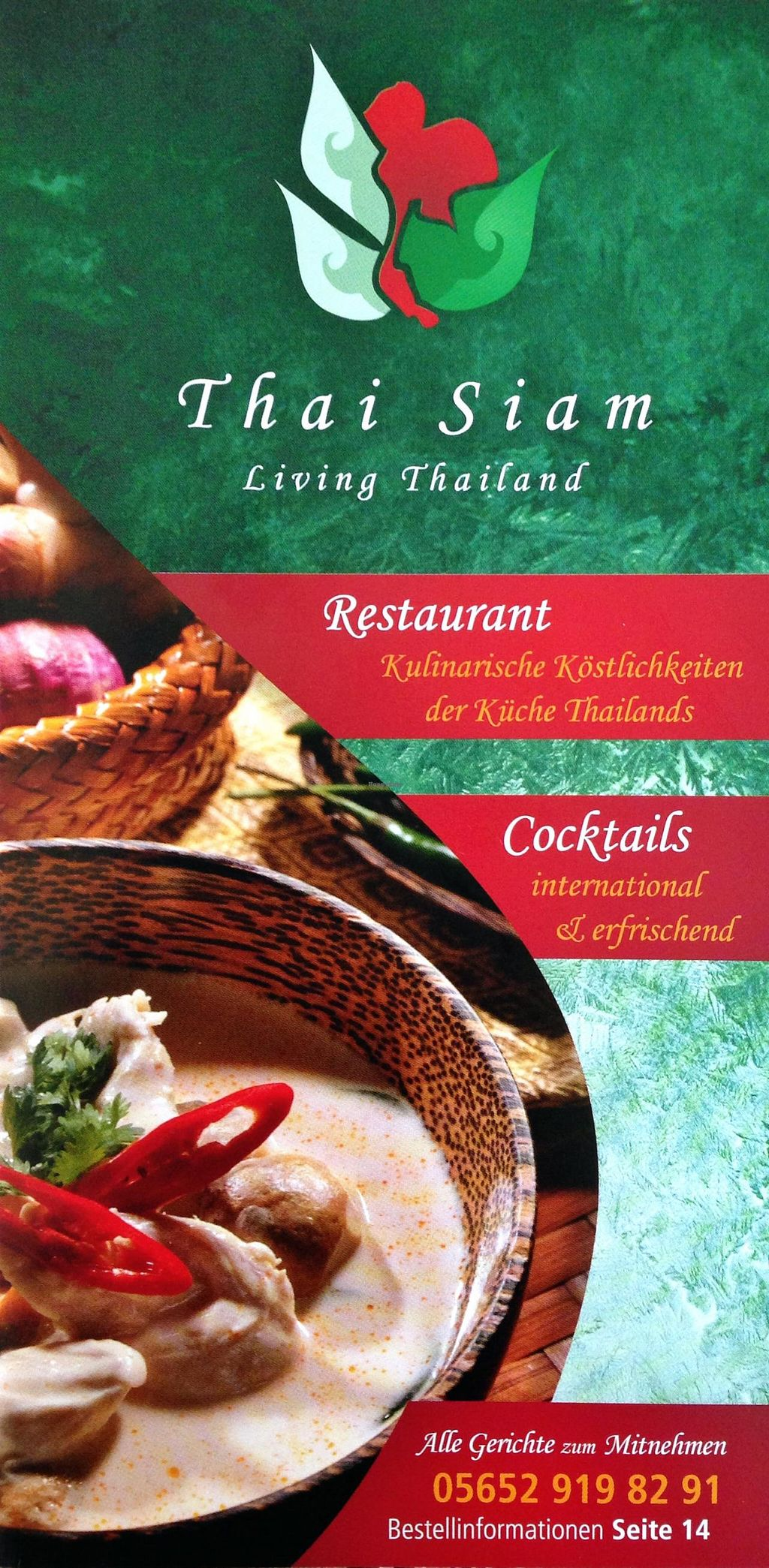 """Photo of Thai Siam - Living Thailand  by <a href=""""/members/profile/MangoTango"""">MangoTango</a> <br/>Promotional flyer <br/> March 8, 2015  - <a href='/contact/abuse/image/56292/95186'>Report</a>"""