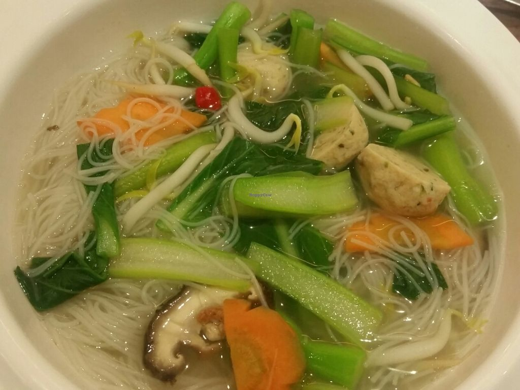 """Photo of CLOSED: ComBi Cafe  by <a href=""""/members/profile/JimmySeah"""">JimmySeah</a> <br/>(mock) fish ball bee hoon soup <br/> July 6, 2016  - <a href='/contact/abuse/image/56294/158096'>Report</a>"""