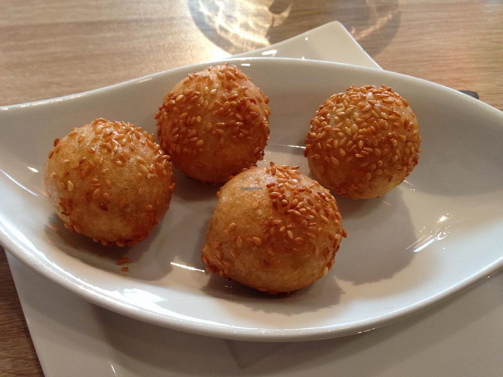 "Photo of HanoiDeli  by <a href=""/members/profile/Pamina"">Pamina</a> <br/>Sesame balls @ HanoiDeli, Hamburg <br/> March 10, 2015  - <a href='/contact/abuse/image/56353/95392'>Report</a>"