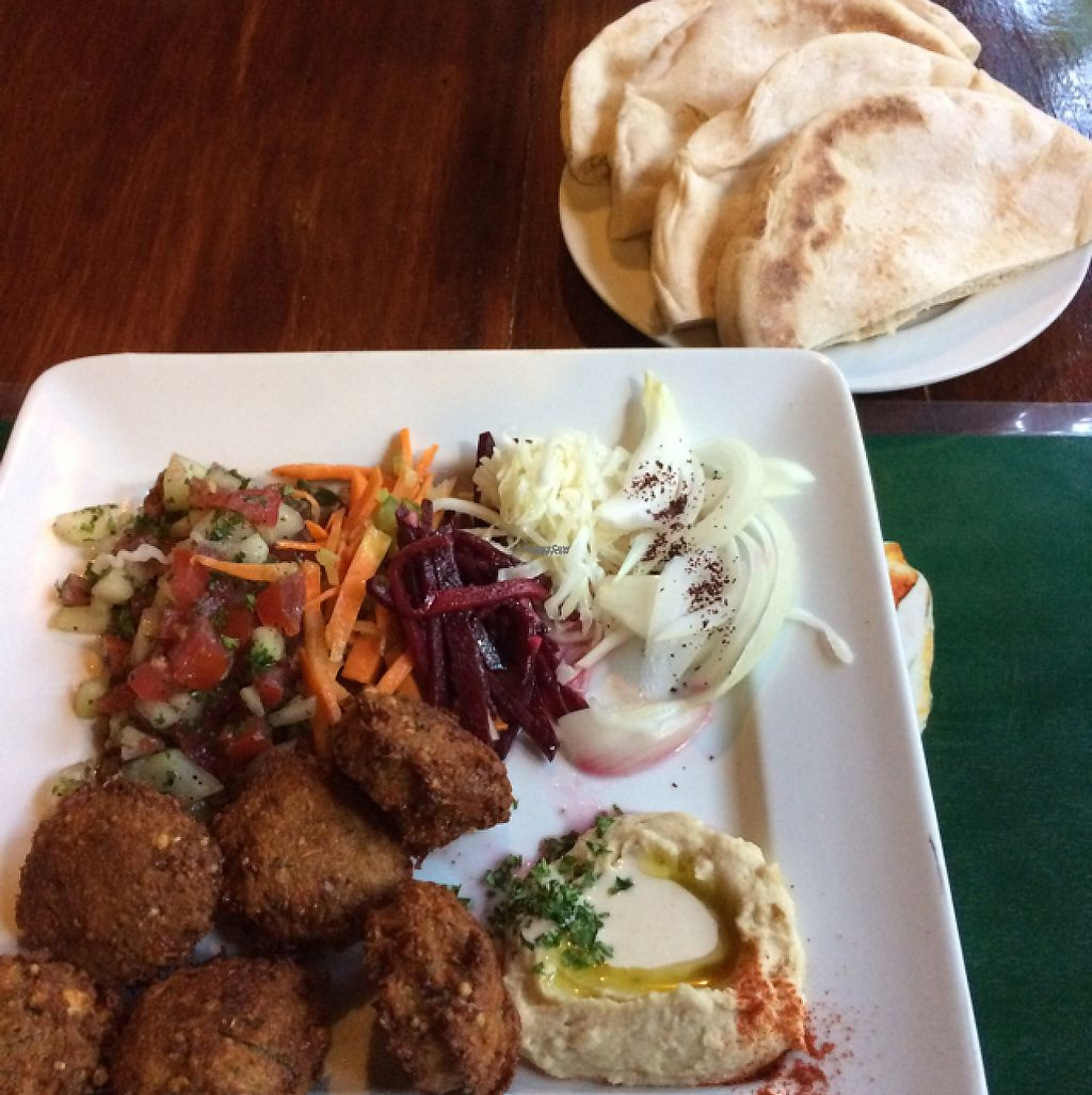 "Photo of Pita Pita in El Pizzaiole  by <a href=""/members/profile/pam_osorio"">pam_osorio</a> <br/>falafel plate <br/> March 6, 2017  - <a href='/contact/abuse/image/56369/233627'>Report</a>"