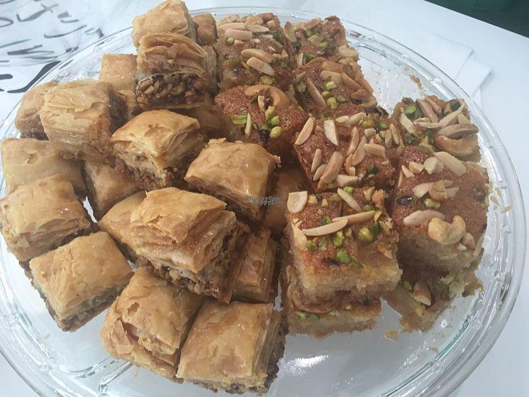 "Photo of Super Falafel - Balcescu  by <a href=""/members/profile/Jameskille"">Jameskille</a> <br/>vegan dessert option  <br/> September 2, 2016  - <a href='/contact/abuse/image/56402/173084'>Report</a>"