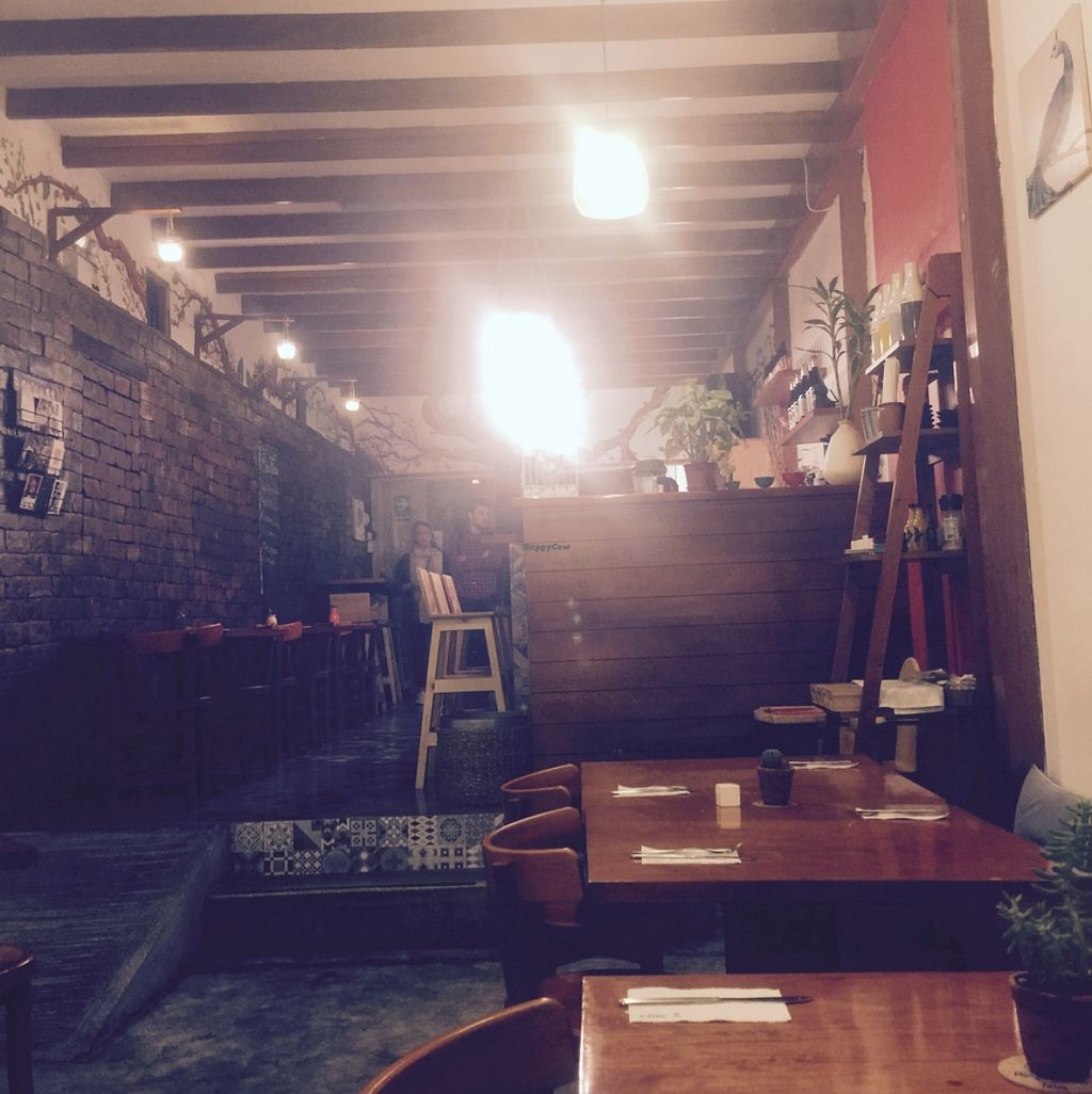 "Photo of Germinando Vida  by <a href=""/members/profile/Pasadena4"">Pasadena4</a> <br/>More upscale than most other vege places in Lima <br/> November 23, 2015  - <a href='/contact/abuse/image/56408/126022'>Report</a>"