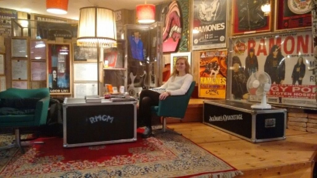 """Photo of Ramones Museum Berlin  by <a href=""""/members/profile/StephenEamonn"""">StephenEamonn</a> <br/>Could chill here for hours <br/> January 29, 2016  - <a href='/contact/abuse/image/56423/134033'>Report</a>"""