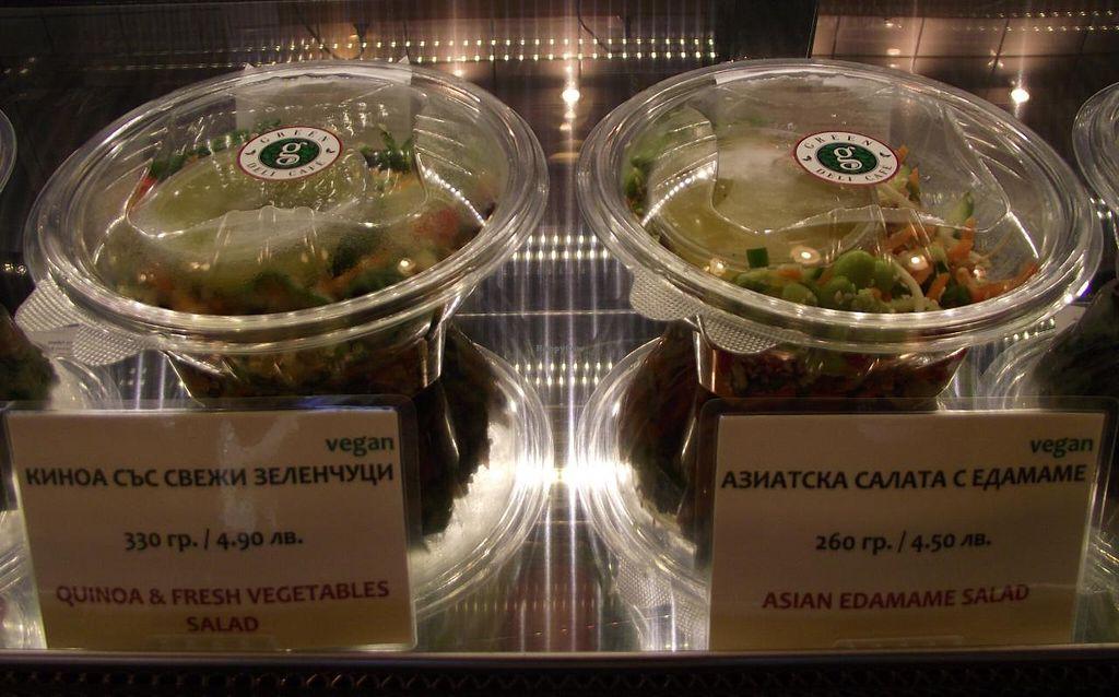 "Photo of Green Deli Cafe - Rakovski  by <a href=""/members/profile/Joanna%20Karatsaneva"">Joanna Karatsaneva</a> <br/>Food Bar - Vegan Salads <br/> March 13, 2015  - <a href='/contact/abuse/image/56431/95632'>Report</a>"