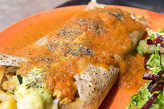"""Photo of Namaste Restaurant  by <a href=""""/members/profile/AdrianaMilenaArdila"""">AdrianaMilenaArdila</a> <br/>Nuestros crepes veganos. son lo mas rico que puedas imaginarte para una tarde de hambre de vegetales  y hummus, con ensalada y jugos de frutas frescas y de temporada <br/> November 30, 2017  - <a href='/contact/abuse/image/56440/330716'>Report</a>"""