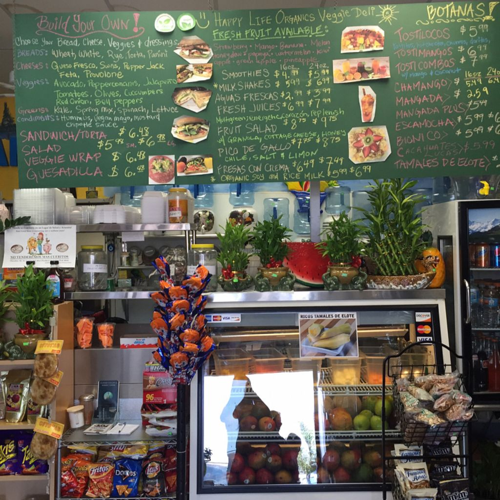 """Photo of Happy Life Organics Veggie Deli  by <a href=""""/members/profile/Sakurasinclair"""">Sakurasinclair</a> <br/>Inside the water store <br/> August 2, 2016  - <a href='/contact/abuse/image/56441/164439'>Report</a>"""