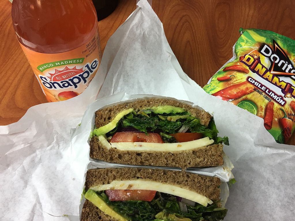 """Photo of Happy Life Organics Veggie Deli  by <a href=""""/members/profile/St_whit"""">St_whit</a> <br/>Veggie Sandwich <br/> September 28, 2017  - <a href='/contact/abuse/image/56441/309441'>Report</a>"""