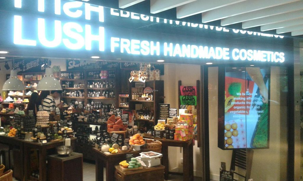 """Photo of Lush - Shatin  by <a href=""""/members/profile/Stevie"""">Stevie</a> <br/>Shop front <br/> May 26, 2015  - <a href='/contact/abuse/image/56455/103476'>Report</a>"""