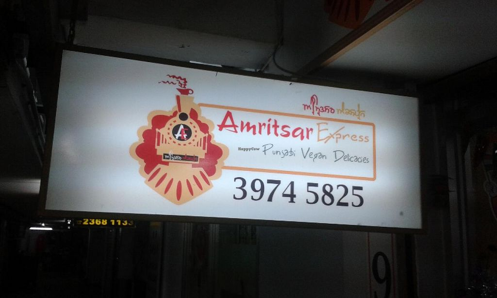 """Photo of Amritsar Express  by <a href=""""/members/profile/Stevie"""">Stevie</a> <br/>signage <br/> March 13, 2015  - <a href='/contact/abuse/image/56480/95665'>Report</a>"""