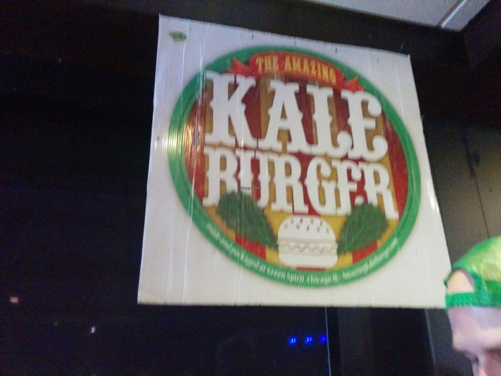 """Photo of CLOSED: Amazing Kale Burger  by <a href=""""/members/profile/MizzB"""">MizzB</a> <br/>Hailing the Ksle <br/> April 18, 2016  - <a href='/contact/abuse/image/56494/145112'>Report</a>"""