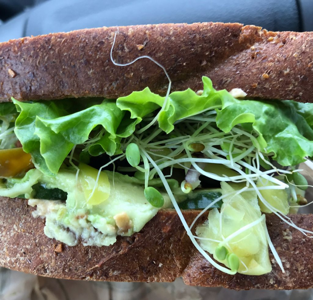 "Photo of Odie's Deli  by <a href=""/members/profile/Sarah%20P"">Sarah P</a> <br/>veggie lovers sandwich <br/> May 21, 2017  - <a href='/contact/abuse/image/56501/260816'>Report</a>"