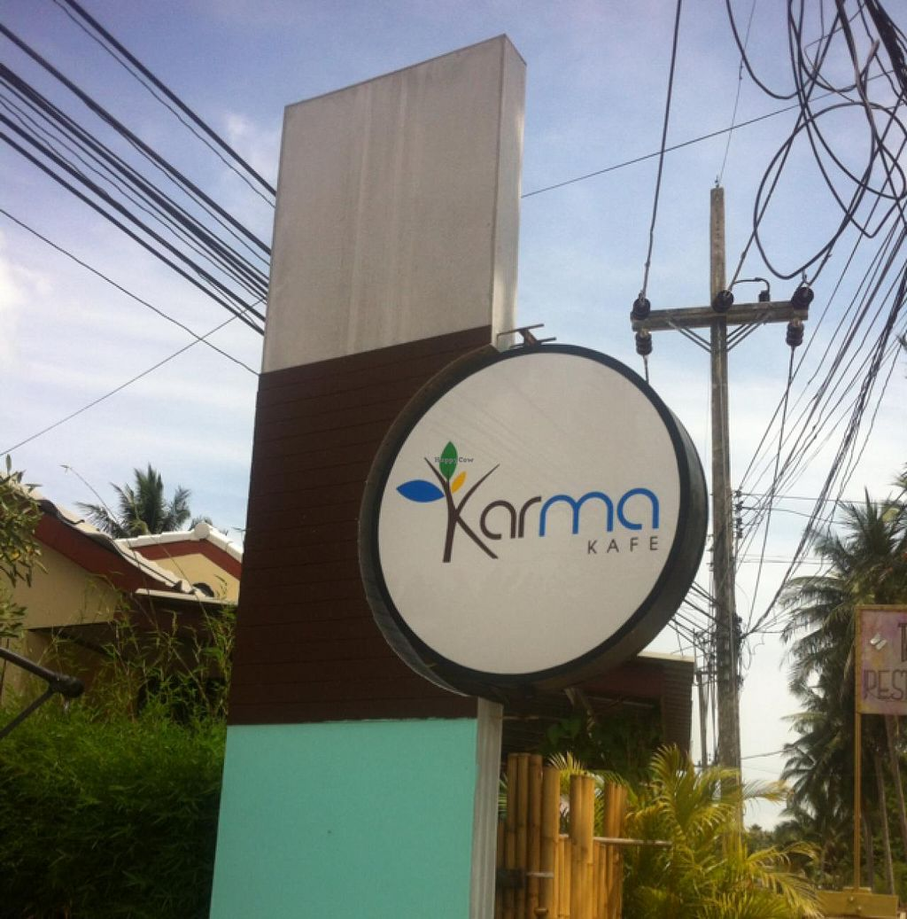 """Photo of Karma Kafe  by <a href=""""/members/profile/MMaree"""">MMaree</a> <br/>Karma front <br/> April 10, 2015  - <a href='/contact/abuse/image/56514/98490'>Report</a>"""