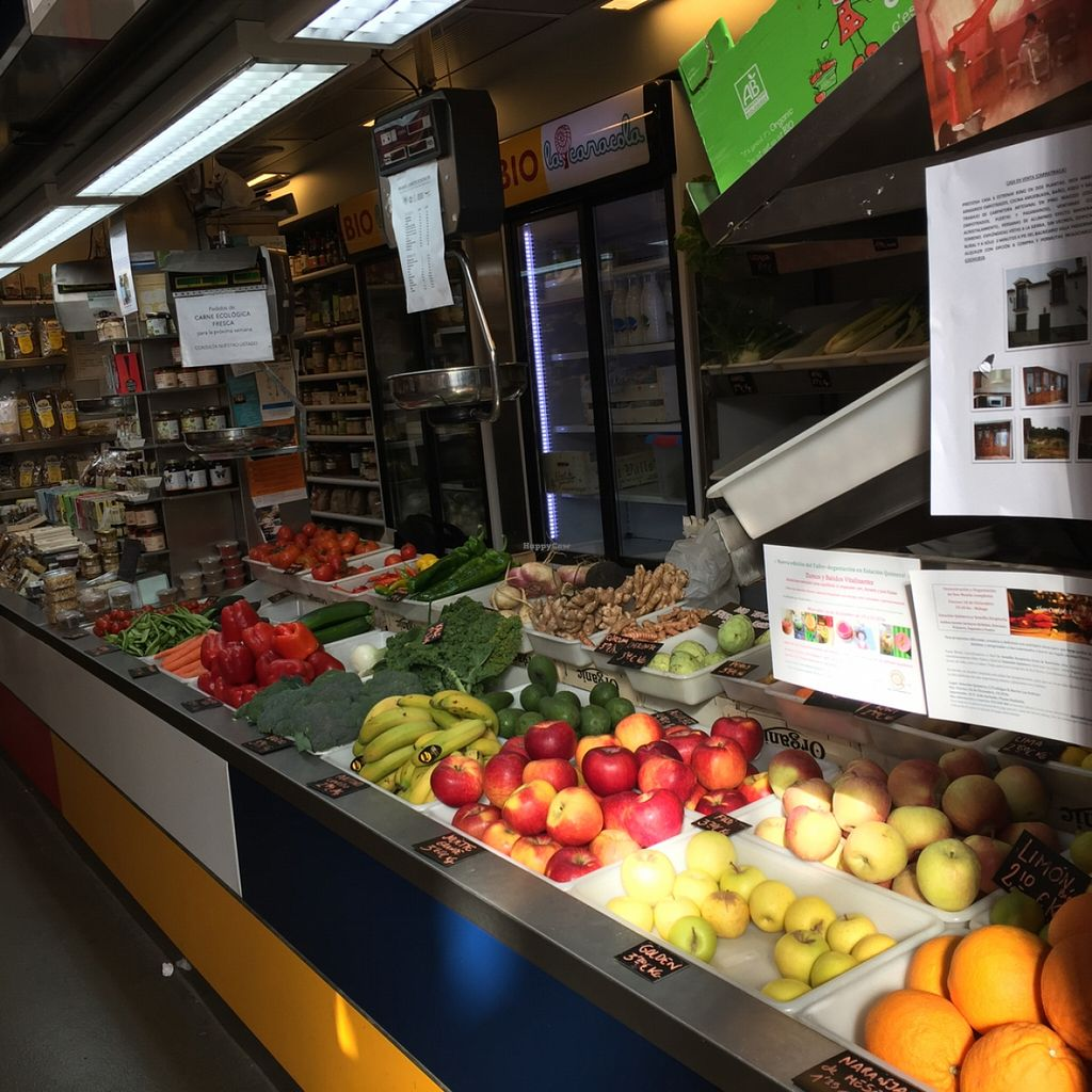 """Photo of La Caracola  by <a href=""""/members/profile/MyVeganJoy"""">MyVeganJoy</a> <br/>fresh organic produce and vegan products <br/> February 7, 2016  - <a href='/contact/abuse/image/56527/135378'>Report</a>"""