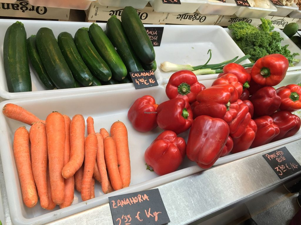 """Photo of La Caracola  by <a href=""""/members/profile/MyVeganJoy"""">MyVeganJoy</a> <br/>fresh organic produce and vegan products <br/> February 7, 2016  - <a href='/contact/abuse/image/56527/135380'>Report</a>"""