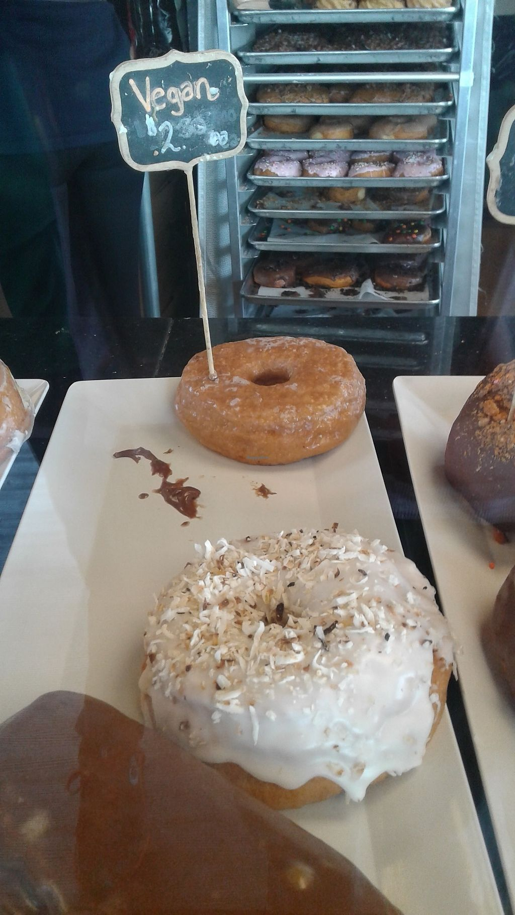 """Photo of Casual Friday Donuts  by <a href=""""/members/profile/J%20and%20J"""">J and J</a> <br/>Vegan doughnuts! <br/> September 8, 2017  - <a href='/contact/abuse/image/56546/302019'>Report</a>"""