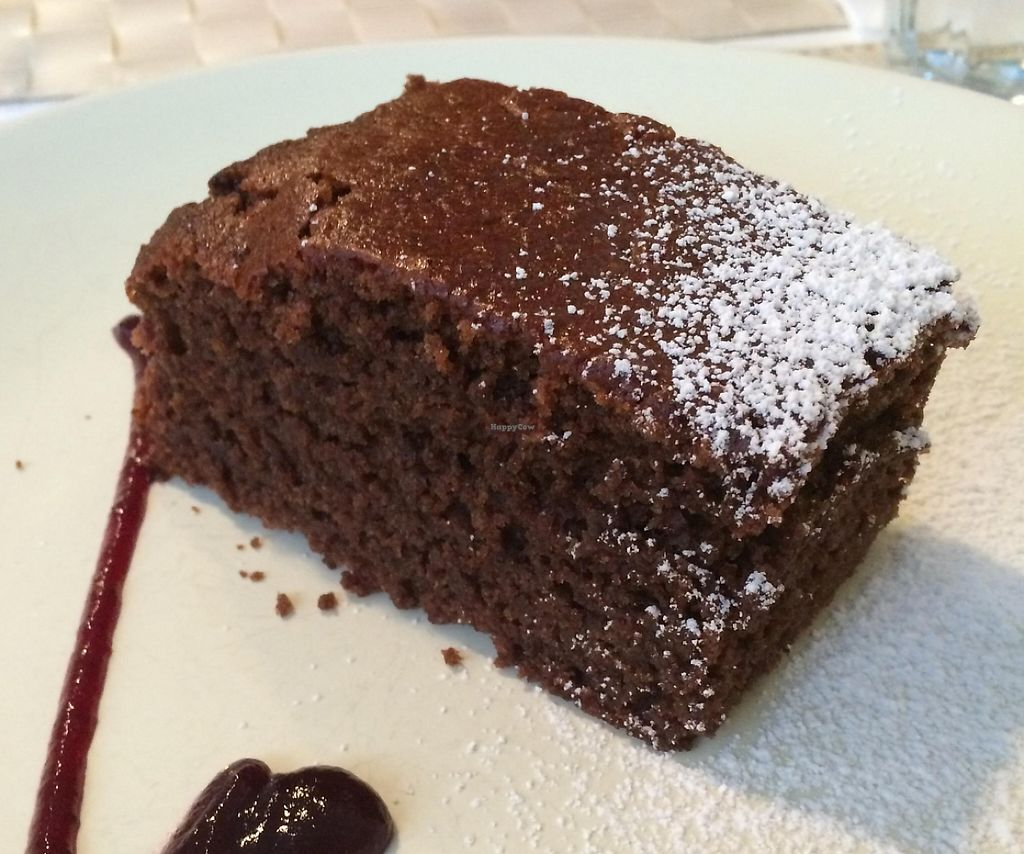 """Photo of Lupin Restaurante Vegetariano  by <a href=""""/members/profile/LilianaNicolau"""">LilianaNicolau</a> <br/>Vegan Chocolate Cake <br/> February 25, 2016  - <a href='/contact/abuse/image/56547/241474'>Report</a>"""