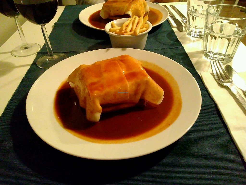 """Photo of Lupin Restaurante Vegetariano  by <a href=""""/members/profile/ManonB"""">ManonB</a> <br/>Francesinha <br/> February 19, 2018  - <a href='/contact/abuse/image/56547/361274'>Report</a>"""