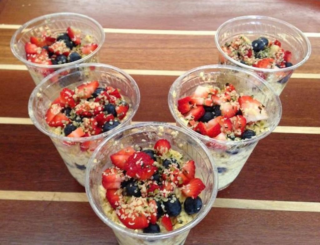 """Photo of Vela Juice Bar  by <a href=""""/members/profile/community"""">community</a> <br/>overnight oats <br/> March 29, 2015  - <a href='/contact/abuse/image/56555/202745'>Report</a>"""