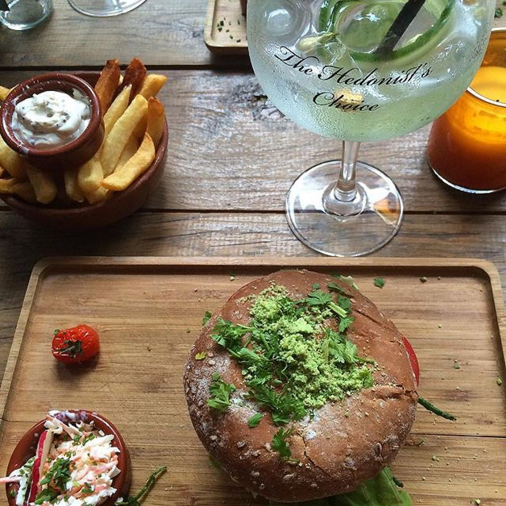"""Photo of Burgerlijk  by <a href=""""/members/profile/veganlieu"""">veganlieu</a> <br/>vegan burger  <br/> May 8, 2017  - <a href='/contact/abuse/image/56556/257067'>Report</a>"""