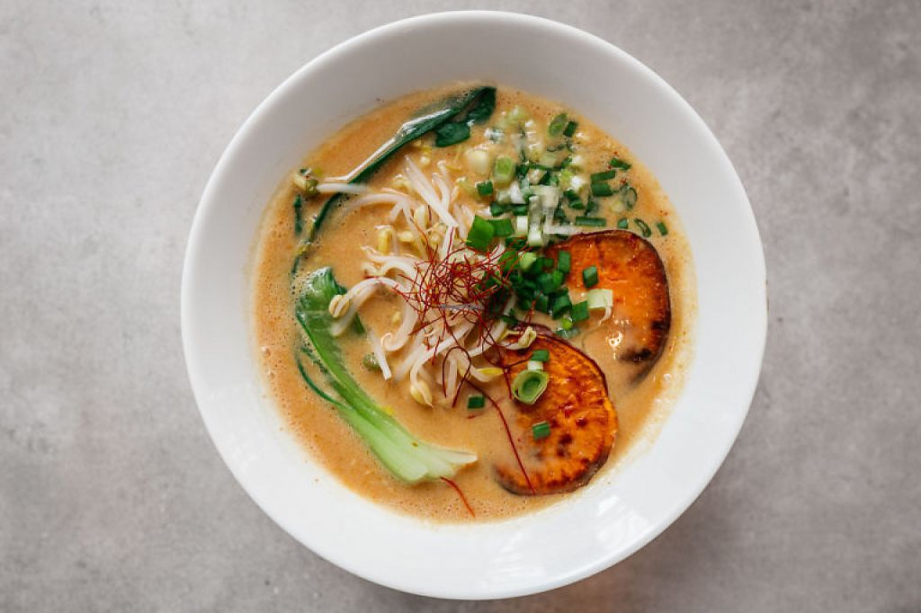 "Photo of Vegan Ramen Shop  by <a href=""/members/profile/Barvel"">Barvel</a> <br/>Spicy Miso Ramen <br/> May 4, 2017  - <a href='/contact/abuse/image/56577/255459'>Report</a>"