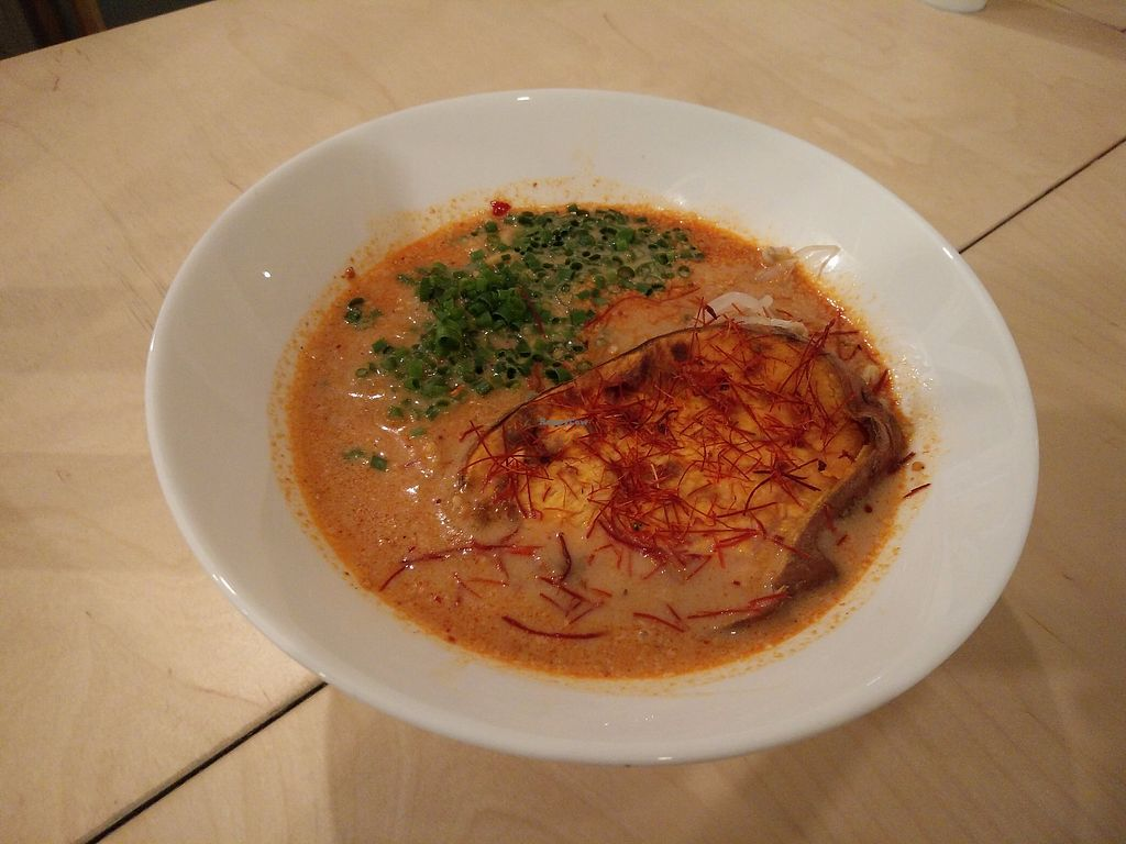 "Photo of Vegan Ramen Shop  by <a href=""/members/profile/martinicontomate"">martinicontomate</a> <br/>spicy curry ramen <br/> October 7, 2017  - <a href='/contact/abuse/image/56577/312914'>Report</a>"