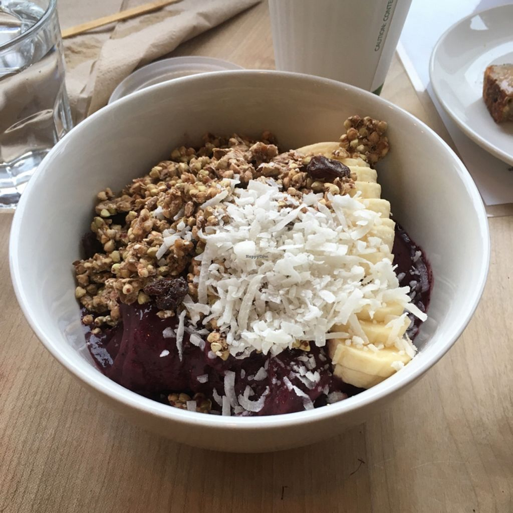 """Photo of Nourish Cafe - Richmond District  by <a href=""""/members/profile/AshleyAutumn"""">AshleyAutumn</a> <br/>Acai <br/> March 5, 2016  - <a href='/contact/abuse/image/56623/138866'>Report</a>"""